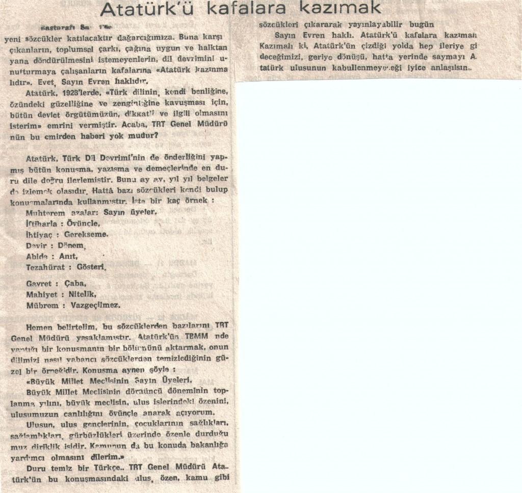 Atatürk'ü Kafalara Kazımak - 2